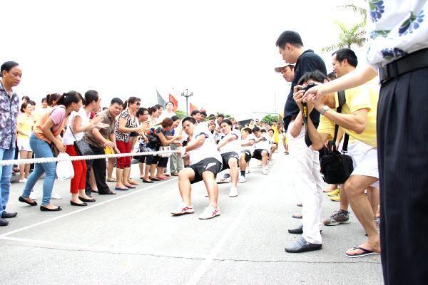 Lễ tổng kết hội thao tổng công ty thuốc lá Việt Nam