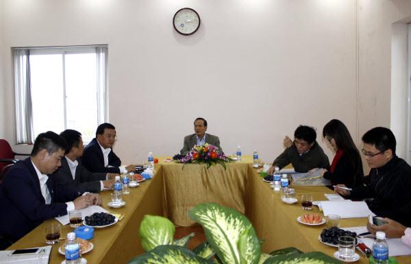 Thứ trưởng Bộ Công thương thăm và làm việc tại Công ty Cổ phần Ngân Sơn