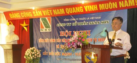 Hội nghị tổng kết công tác sản xuất nguyên liệu năm 2011