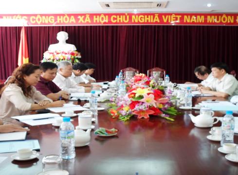 Đoàn công tác Công ty Cổ phần Ngân Sơn thăm và làm việc với lãnh đạo UBND tỉnh Bắc Kạn