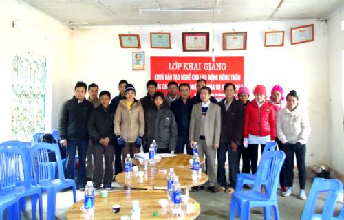 Ngân Sơn: Mở lớp đào tạo nghề cho lao động nông thôn